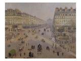 Avenue de l'Opera Giclee Print by Camille Pissarro