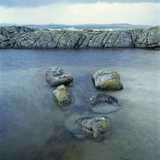 Rock Formation in Ocean Photographic Print by Micha Pawlitzki