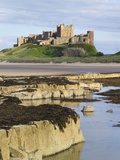 Bamburgh Castle on the Beach Photographic Print by Paul Thompson