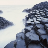 Basalt Columns on Coast Photographic Print by Micha Pawlitzki