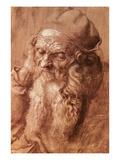 A Man Aged Ninety-Three Giclée-Druck von Albrecht Dürer