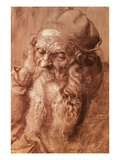 A Man Aged Ninety-Three Giclee Print by Albrecht Dürer