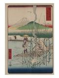 Sagami River Giclee Print by Ando Hiroshige