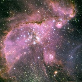 NGC 346 Star Cluster Photographic Print