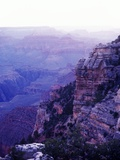 Sunset paints the Grand Canyon purple and mauve Photographic Print by Elliott Kaufman