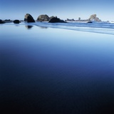 Sea Stacks on Beach Photographic Print by Micha Pawlitzki
