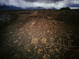 Chalfant Petroglyphs Photographic Print by David Muench
