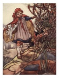 Little Red Riding Hood Giclee Print by Charles Robinson