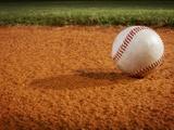 Baseball Fotografisk tryk af Randy Faris