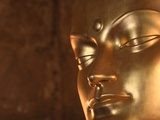 Buddha Statue in Temple Photographie par Fred de Noyelle