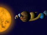Solar System Photographic Print by Tim Kiusalaas