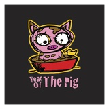 Year of the Pig Giclee Print