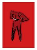 Hurting Yourself Giclee Print by Jordi Elias