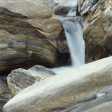 Waterfall in Verzasca Valley Photographic Print by Micha Pawlitzki