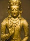 Detail of Bronze Boddhisatva by Zanabazar Photographic Print by Bob Krist