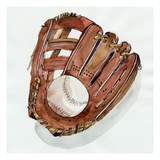 Baseball Glove Giclee Print by Kelly Brooks