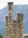 Columns at Temple of Apollo at Delphi Photographic Print by Daniella Nowitz