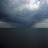 Overcast Sky Over Ocean Photographic Print