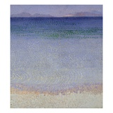 The Iles d'Or Giclee Print by Henri Edmond Cross