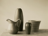 Vases and Pitcher Photographic Print by Ann Cutting