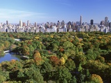 Central Park and Manhattan Buildings Photographic Print by Rudy Sulgan