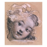 Portrait Presumed to be Rosalie Giclee Print by Jean-Honore Fragonard