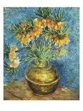 Crown Imperial Fritillaries in a Copper Vase Giclée-Druck von Vincent van Gogh