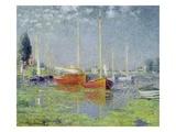 Argenteuil Giclee-trykk av Claude Monet