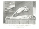 The Soul Hovering over the Body Reluctantly Parting with Life Giclee Print by William and Louis Blake and Schiavonetti
