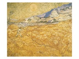 The Harvester Giclee Print by Vincent van Gogh