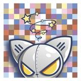 ROBO BAT Giclee Print by Tristan Eaton