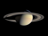 Saturn Photographic Print by Michael Benson