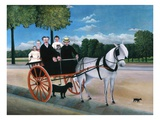 Old Man Junier's Trap Giclee Print by Henri Rousseau