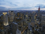 Midtown Manhattan Sparkles at Dusk Photographic Print by David Jay Zimmerman