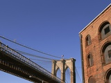 Brooklyn Bridge from Empire-Fulton Ferry State Park Photographic Print by Rudy Sulgan