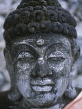 Balinese Buddha Sculpture Photographic Print by Alison Wright