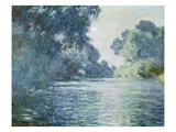 Branch of the Seine near Giverny Giclee Print by Claude Monet