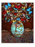 Butterflies Fly Out Through the Crack in the Egg Giclee Print