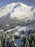 Mont Blanc Fotografisk tryk af Owen Franken