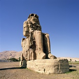 Colossus of Memnon at Luxor Photographic Print by So Hing-Keung