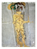 The Knight from the Beethoven Frieze Giclee Print by Gustav Klimt