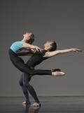 Ballet pas de deux Photographic Print by Erik Isakson