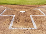 Batter's box Photographic Print by Erik Isakson