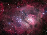 Lagoon Nebula Photographic Print