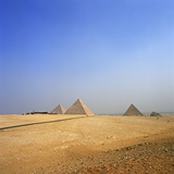 Pyramids of Giza Photographic Print by So Hing-Keung