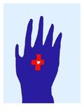 Hälsovård Gicleetryck av Susan Farrington