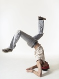 Break dancer Photographic Print by Erik Isakson