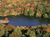 Lake in Central Park Photographic Print by Rudy Sulgan