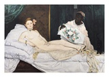 Olympia Giclee Print by Edouard Manet