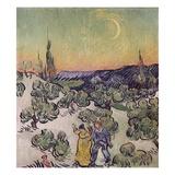 Moonlit Landscape Giclee Print by Vincent van Gogh